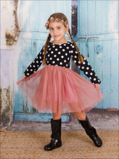 e4d7e806bcb Adorable Girls Polka Dot Dresses at Affordable Prices - Mia Belle Baby