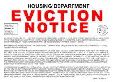 Stop Eviction!  Legal Aid for Landlord or Bank Eviction!