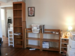 BOOKCASES (3)